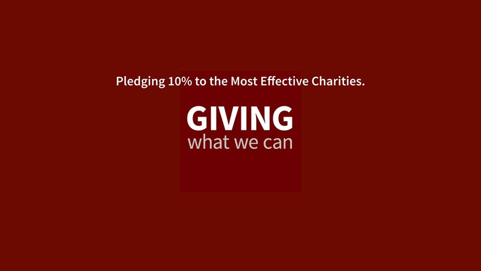 """Organisation #1: """"Giving What We Can"""""""