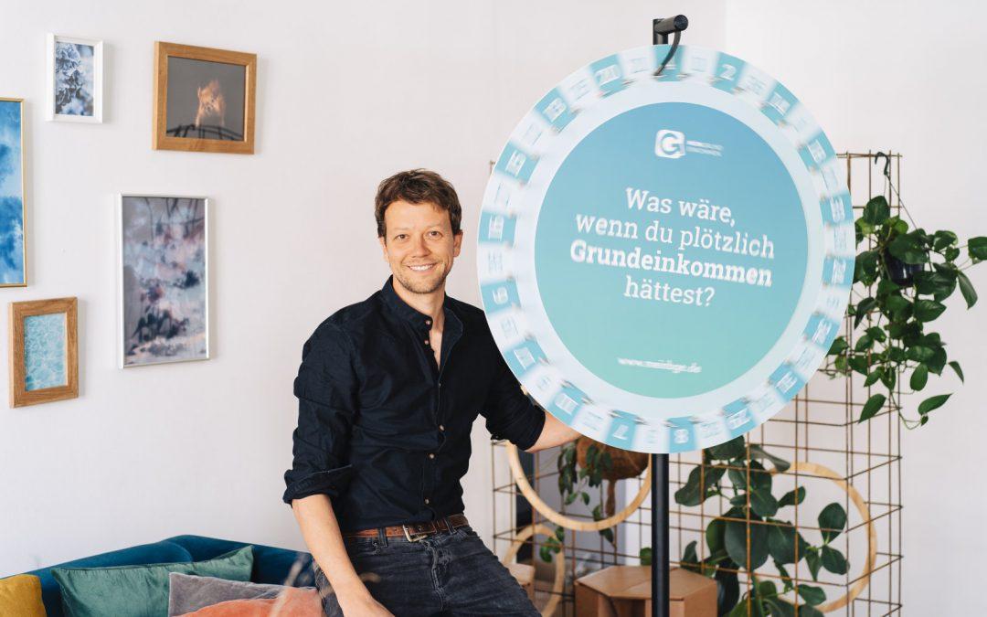 """Organisation #2: """"Mein Grundeinkommen"""""""